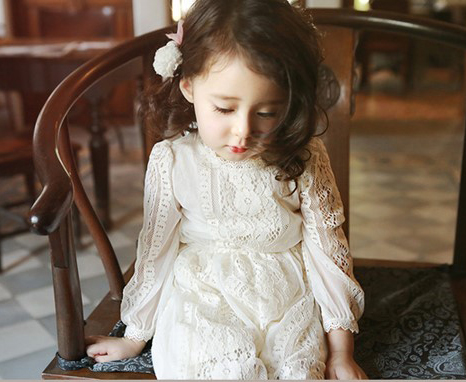 Girls's dress Spring Autumn Princess Dresses Baby Girls Clothes Costume Korean style Quality cute wear kids Party dress up 2-8T 2016 new fashion spring autumn girls false two dress children stripe princess dress korean leisure kids clothes dc095