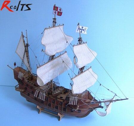 RealTS 1/85 San Francisco modèle de bateau à voile classique modèle en bois kit