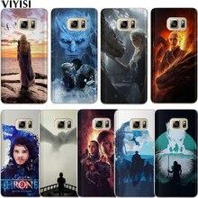 Game Thrones Etui For Samsung Galaxy A7 2018 case A6 A8 A5 A3 A9 2016 2017 Coque Funda Daenerys Dragon Jon Snow Tyrion Lannister