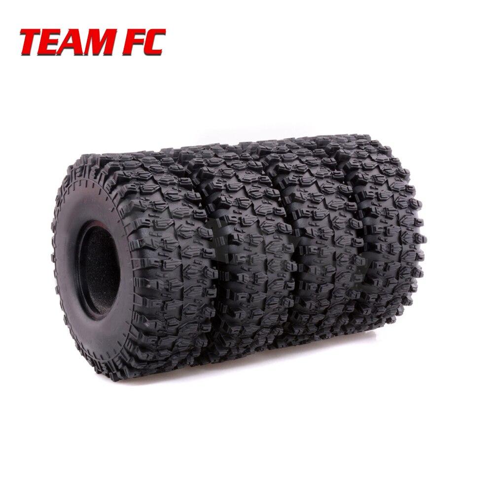 4PCS 120MM 1.9 Rubber Rocks Tyres / Wheel Tires for 1:10 RC Rock Crawler Axial SCX10 90047 RC4WD D90 D110 TF2 Traxxas TRX-4 4pcs 110mm 1 9 rc 1 10 rubber tyres tires for 1 10 rc rock crawler wheels scx10 rc4wd d90 d110