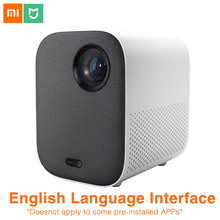 Xiaomi Mijia projektör gençlik Edition Full HD 4K TV Video projektör 1080P Bluetooth telefon bilgisayar için müzik 3D film projektör