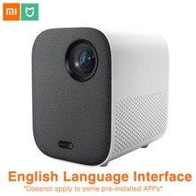 Xiaomi mijiaプロジェクター青年版フルhd 4 4kテレビビデオproyector 1080 1080pのbluetooth電話コンピュータ音楽 3D映写機