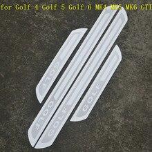 Нержавеющая сталь Накладка/порог дверь порог для Volkswagen Golf 4 Golf 5 Golf 6 MK4 MK5 MK6/Rabbitt 2009-2012
