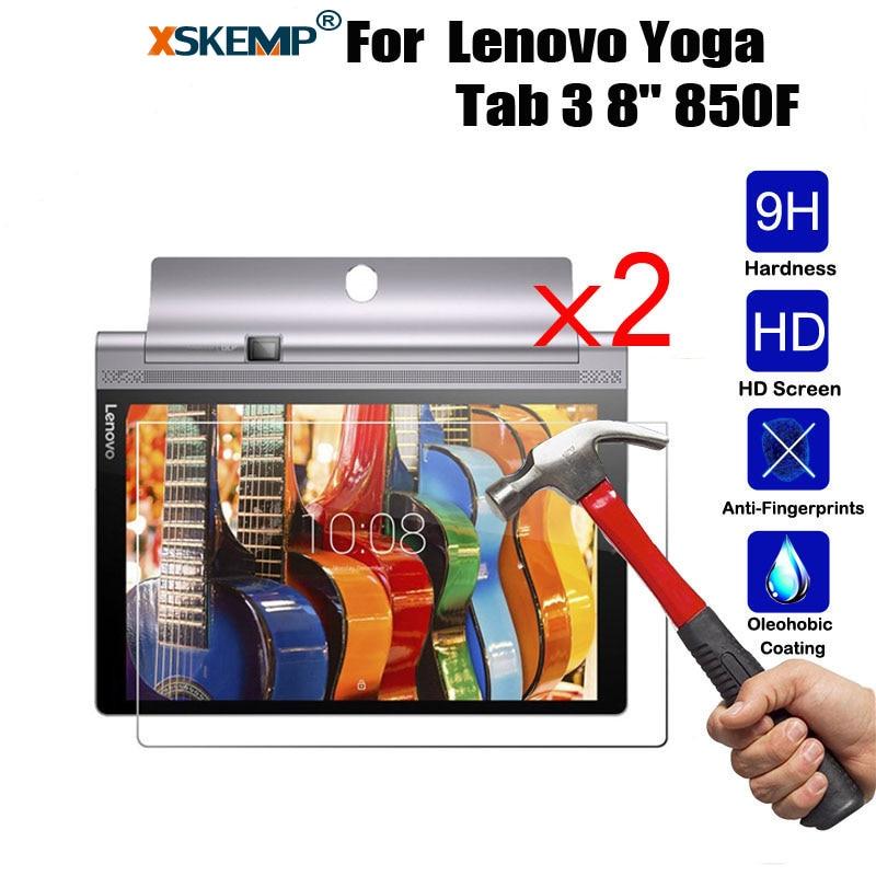 XSKEMP 2Pcs/Lot 9H 0.3mm Film For Lenovo Yoga Tab 3 8