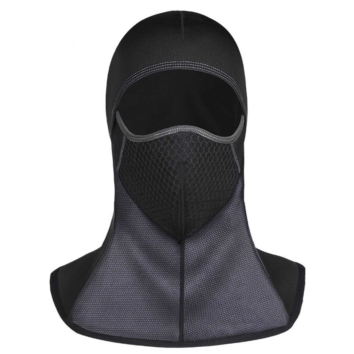 冬フリースバラクラバフェイスマスク屋外スポーツサイクリング防風フェイスマスクネックウォーマーフェイスマスク 4 種類 2019