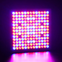 LED Grow Light Panel 45W Reflector Plant Growing Light with Red Blue Bulbs Spectrum 169 Leds for Growing&Flowering Grow Tent