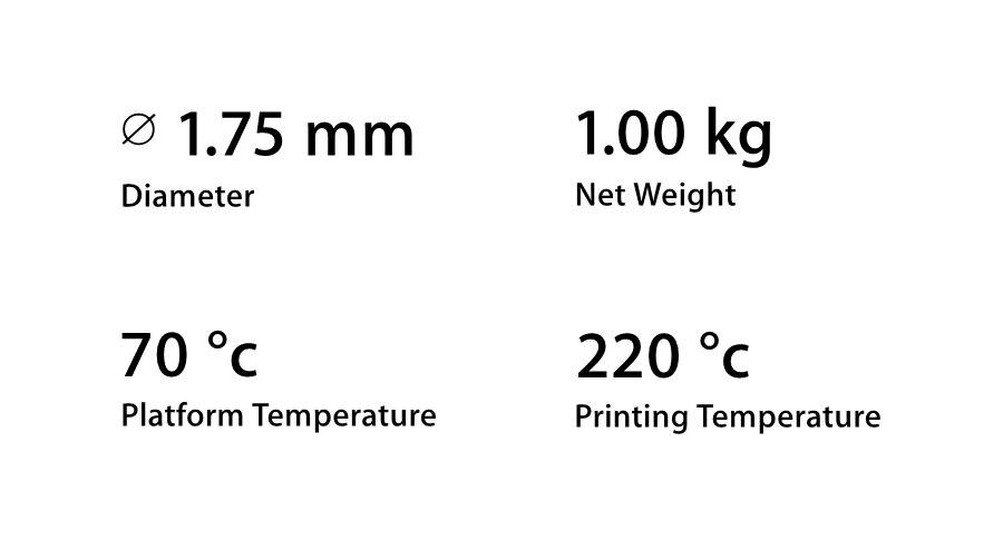 1.75 milímetros 1kg Ouro Flexível Macio TPU