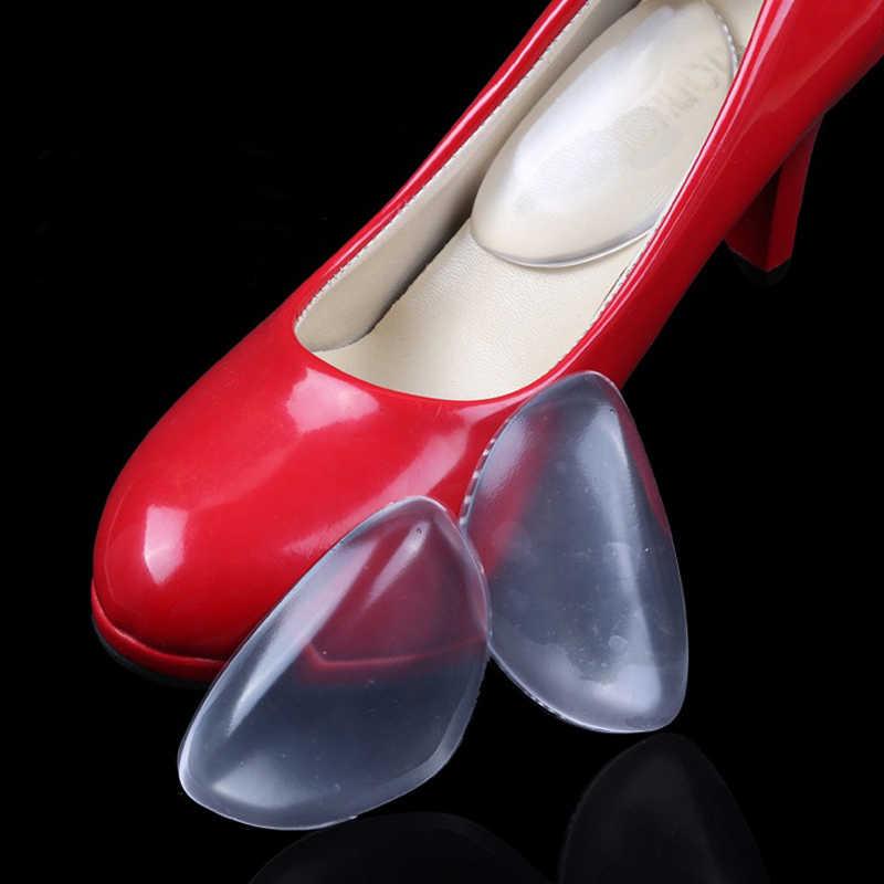 Mujeres ortopédicas silicona Gel arco soporte zapatos insertos pie plantilla cuña cojín almohadillas X-13015
