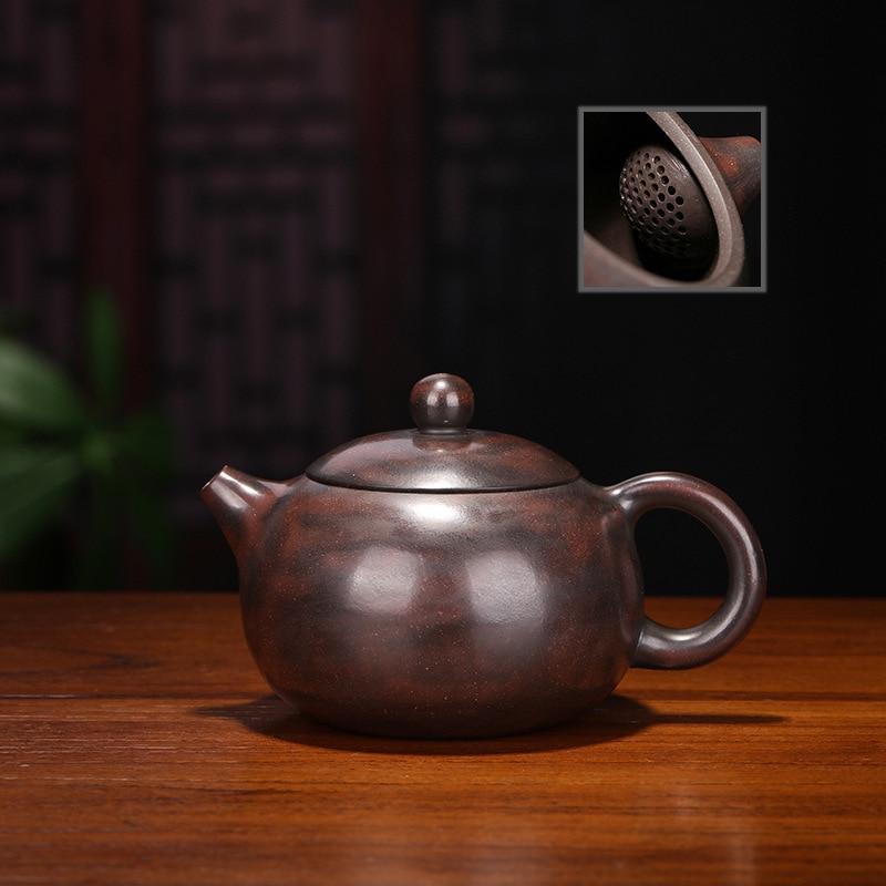 Ore Pottery Teapot A Piece Of Generation Hair Famous Full Manual Tea Set Gift Originality Customized Qinzhou Mud Xi Shi Kettle