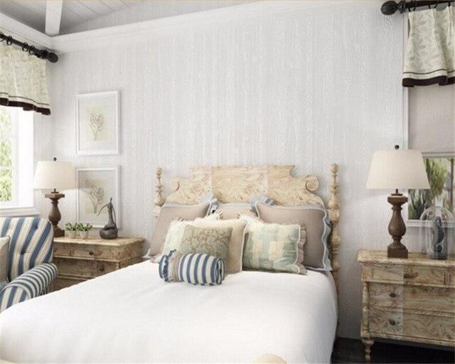 Beibehang grain du bois papier peint pour salon chambre mur papier