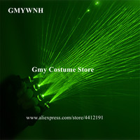 M53 Bar laser gloves green beams laser gloves laser man robot projector dj red stage costumes model show props led costume party