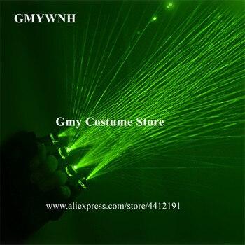 M53 Bar laser gloves green beams laser gloves laser man robot projector dj red stage costumes model show props led costume party