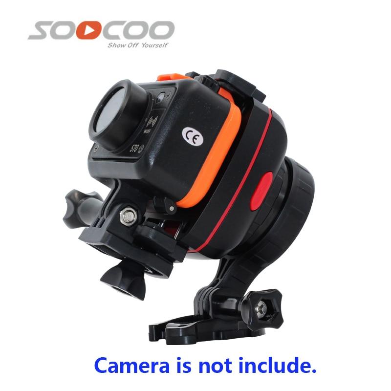 D'origine SOOCOO PS2 1-Axis Réglable Gryo Stabilisateur Compatible avec Tous Les Sprots D'action Caméra et Téléphone Intelligent