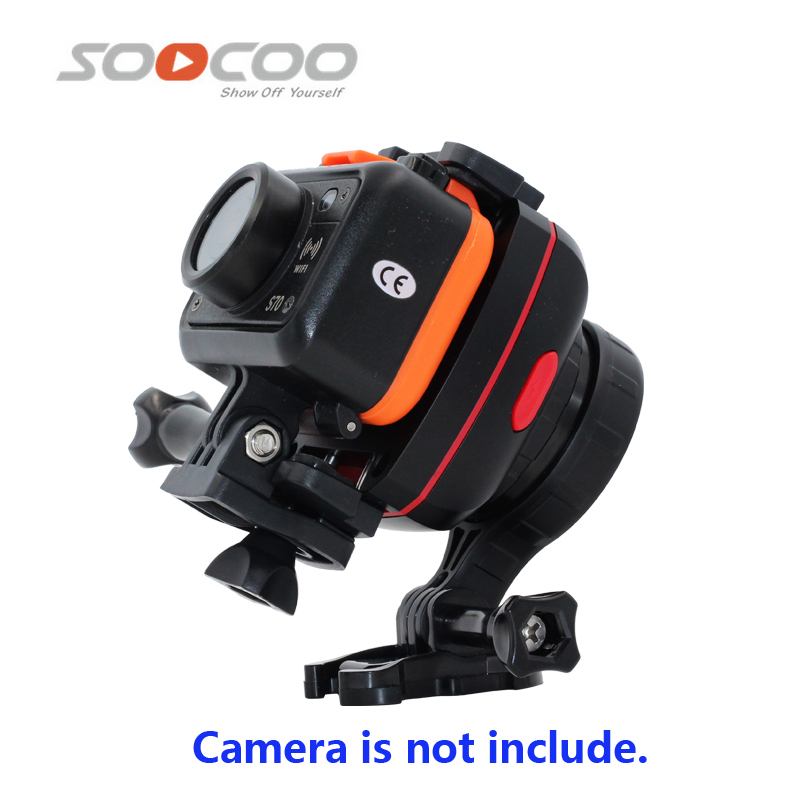 Original SOOCOO PS2 1 Axis Adjustable Gryo Stabiliser Compatible with All Sprots Action Camera and Smart