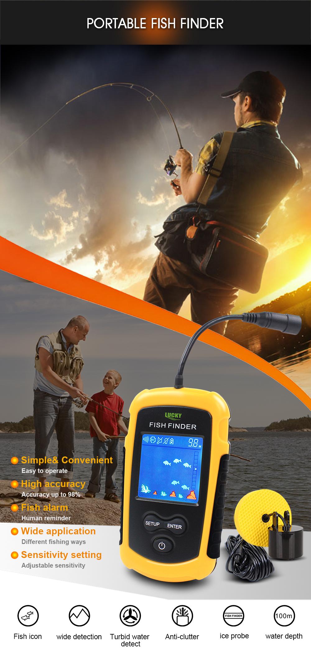 FF1108-1 fish finder