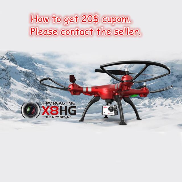 X8HG Syma RC Drone drone con cámara HD 1080 P Profesional Grande Quadcopter Helicóptero RTF VS Vs MJX Syma X101 X8 X8G X8C X8W