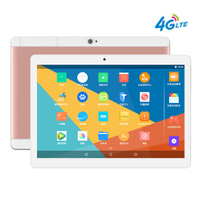 2017 New 4G LTE 10 inch Tablet Android 6.0 PC Pad 1920×1200 IPS Quad Core 2GB RAM 16GB ROM Dual SIM Card FDD Phone Call Phablet
