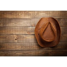 598f22e88cdab Laeacco West Cowboy Hat Wooden Board USA Baby Pet Food Portrait Photo  Backgrounds Photography Backdrops Photocall