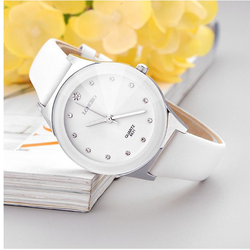 Luxury White Ceramic Water Resistant Ceramic Sports Women Wrist Watch,Free Shipping Top Quality Rhinestone Lady watch fashionable water resistant glow in dark wrist watch black white 1 x lr626