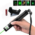 High-power laser Pointer Scope laser 303 pen adjustable Focus 10000m Green Lazer sight for burning firecrackers and matches