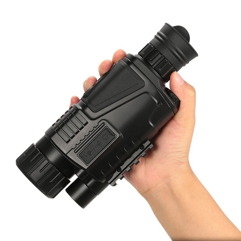 5 x 40 Infrared Night Vision Telescope Wholesale Manufacturer Monocular Powerful HD Digital Vision 16 GB Memorry card