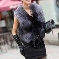 2016 новый искусственного меха жилет из искусственного меха пальто пальто зимняя куртка пальто женщин манто fourrure femme hiver femme манто пальто женщин жилет