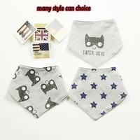 3 pcs high quality fashion brand newborn baby bibs waterproof kids girls and boys cotton triangle.jpg 200x200
