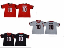 4ff2d68f2 Georgia Bulldogs 10 Malik Herring College Football Jersey Size S-XXXL(China)