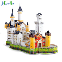 109pcs Lot Kids Toys Jigsaw 3D Puzzle House Building Wooden Toys For Children Wood Toy Puzzles