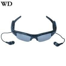НОВЫЙ WD SM07B 720 P Bluetooth Видеокамерой Очки Мобильный Очки Рекордер Солнцезащитные Очки Поддержка DV, MP3 Музыку, телефонные Звонки, tf карты