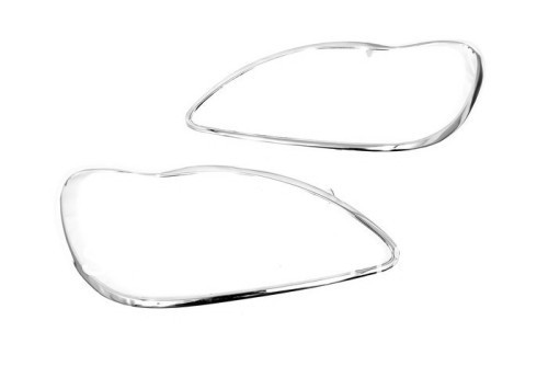 Chrome Head Light Cover For Mercedes Benz W220 S Class-in