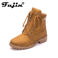2018 New Arrival Women Winter Boots Martin Boots Round Toe Shoes Warm Snow Boots Fashion Platform