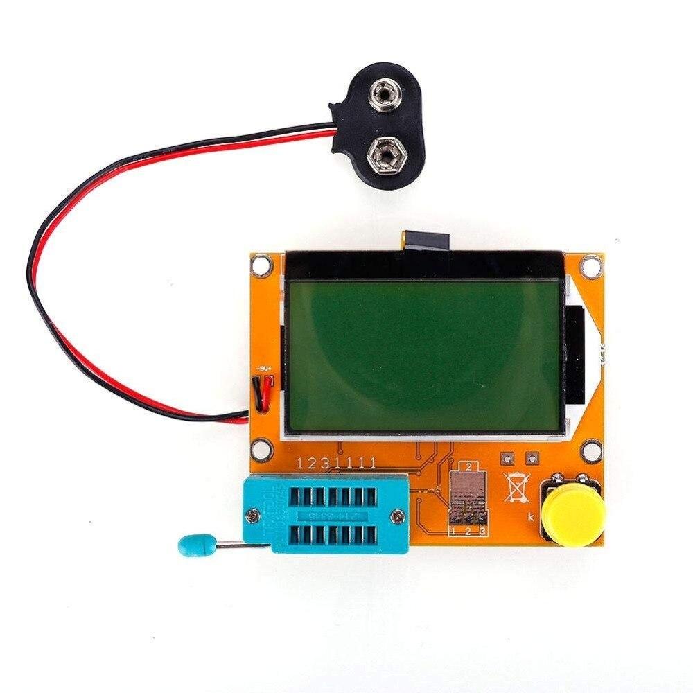 9V LCD Digital Transistor Tester Meter Backlight Diode Triode Capacitance ESR Meter for MOS/PNP/NPN LCR Electronic Component Kit Pakistan