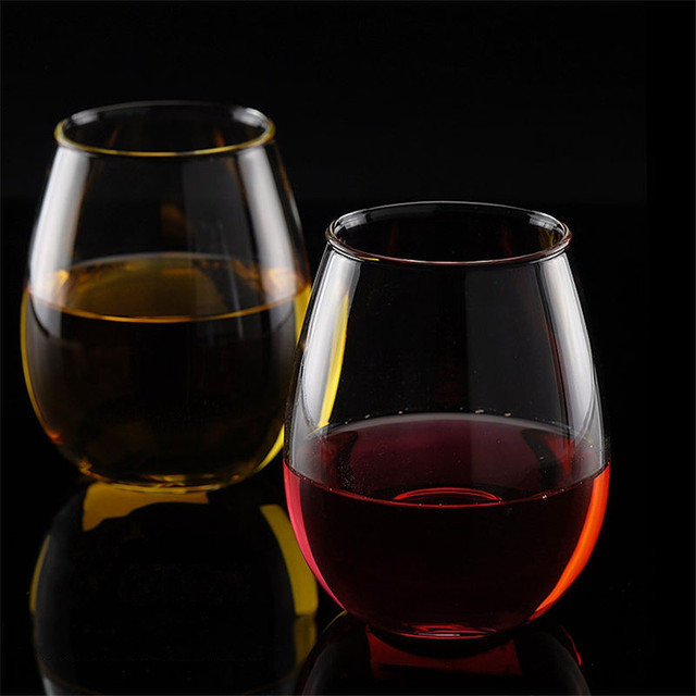 350ml/420ml Elegant Wine Glasses Champagne Glass Wine Glasses Brandy Cocktail Glass Bar Cups Wedding Party Dinner Glassware