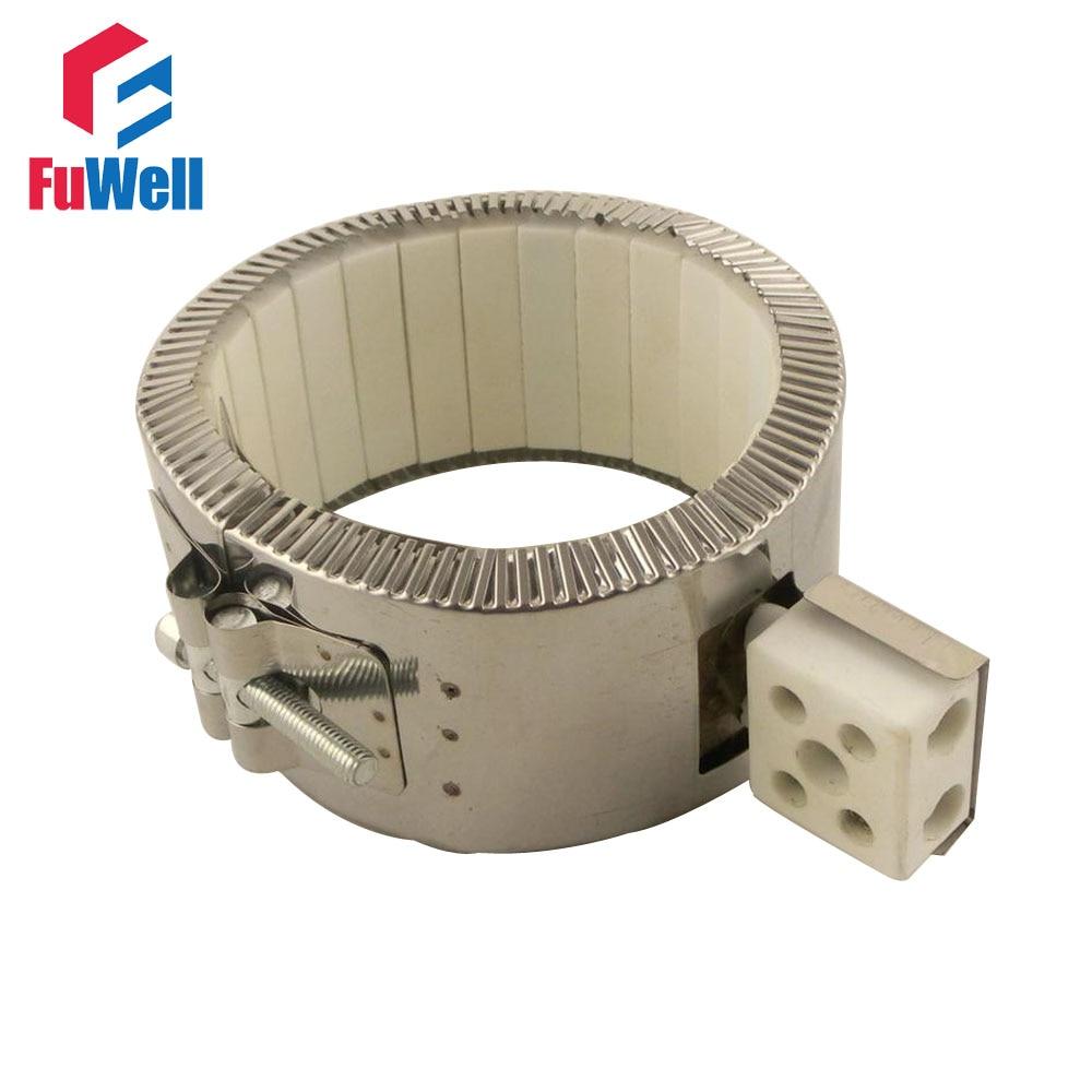 220V 2900W Ceramic Band Heater 190mm x 100mm Heating Element