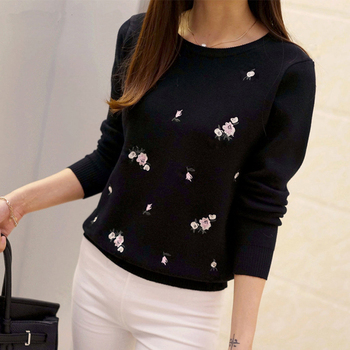 Embroidery-Knitted-Women-Autumn-Sweater-4