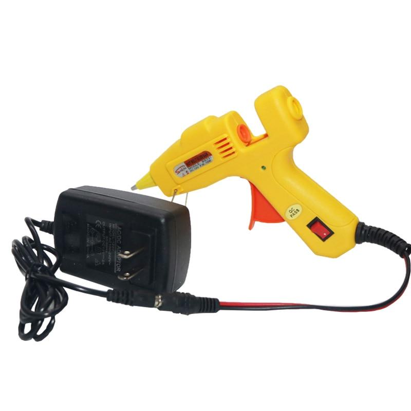 12V 10W Pistola de pegamento de fusión en caliente Adaptador de CA a - Herramientas eléctricas - foto 6