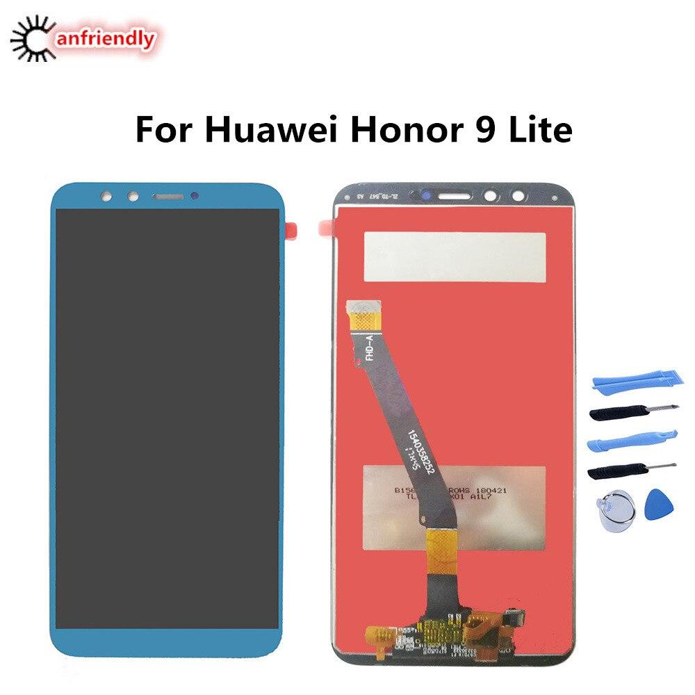 Pour Huawei Honor 9 Lite LLD AL00 AL10 L31 TL10 5.65 LCD Display + Écran Tactile Remplacement Digitizer Assemblée téléphone Panneau De Réparation