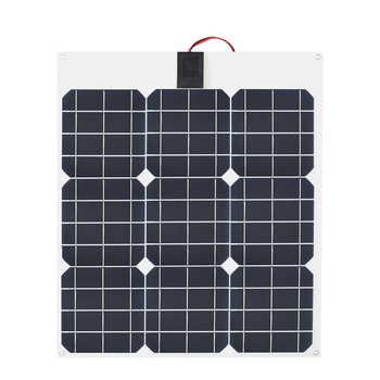 30W/40w/60W/100W 12V/16V/18V Solar Energy cell Flexible Solar Panel Module Battery Charger Panels for Car/Truck/Motorcycle