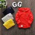 2016 Retail Head Simple Sweaters Toddler Clothes Boys&girls Gift Infant Sweater Kids Hoodies Baby Sweatshirts Child Clothes
