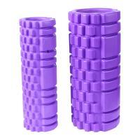 2pcs Best Pilates Yoga Foam Roller Stretches Gym Massage Roller EVA Trigger Point Fitness Foam Roller