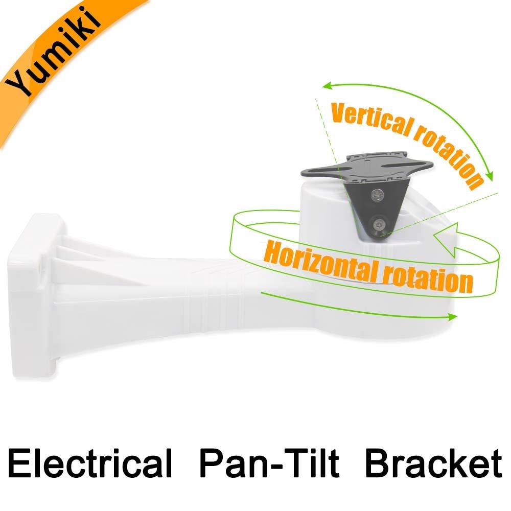 PTZ bracket Electrical Rotating Bracket Pan Tilt installation  stand  holder cctv accessories for cctv camera