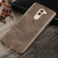 Vintage Cowboy PU Leather Back Cover Case For Huawei Honor 6X Ultra Thin Phone Bag Fundas