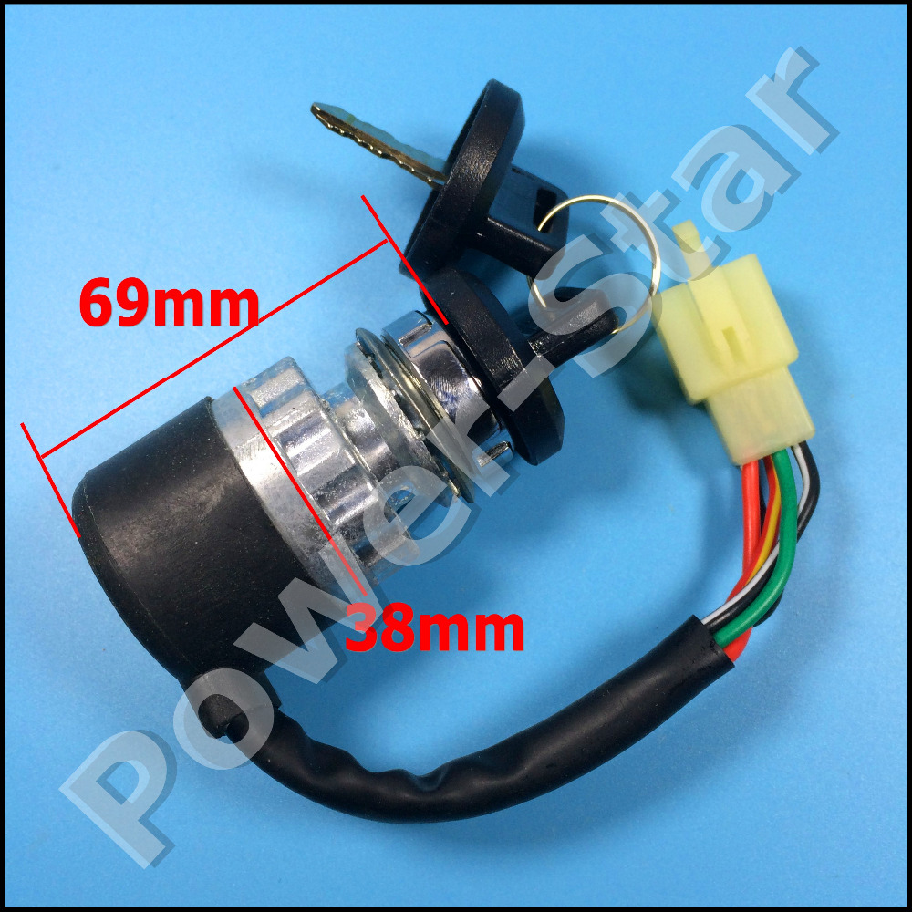 hight resolution of ignition switch key 5 wires for chinese 150cc 250cc go kart atv utv in atv parts accessories from automobiles motorcycles on aliexpress com alibaba