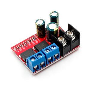 Image 2 - Новый 5A двойной двигатель постоянного тока Привод модуль дистанционного Управление Напряжение 3V 14V обратный PWM Скорость регулирования двойной H Мост супер L298N 5AD