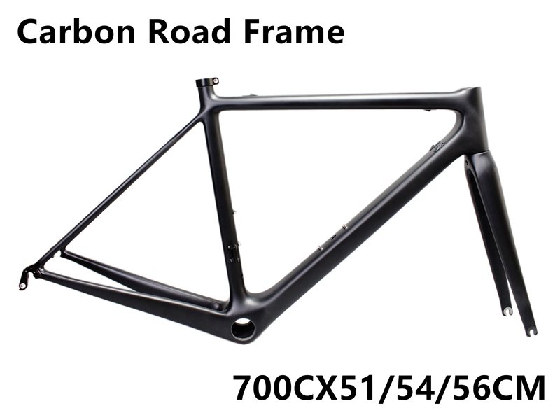 RURA RAZA Bicycle Frame Carbon Fiber Bicycle Frame Race Bicycle Set Of Bicycle Racks Road And Mountain Bicycle Frame