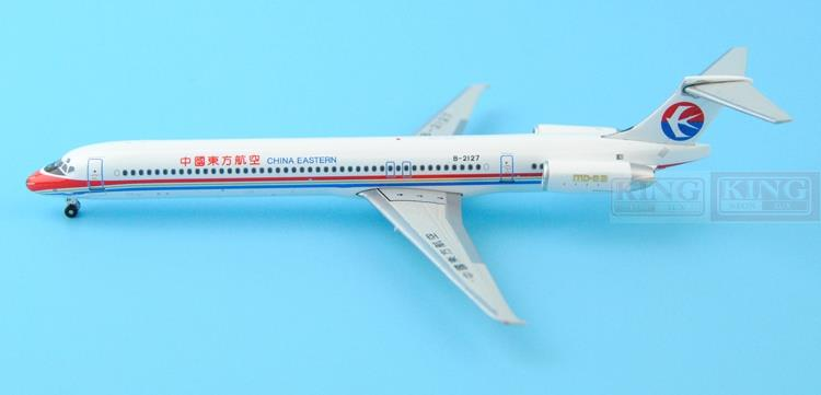 GJCES1372 GeminiJets China Eastern Airlines B-2127 1:400 MD-82 commercial jetliners plane model hobby gjiss1512 meridiana md 80 i smet 1 400 geminijets commercial jetliners plane model hobby