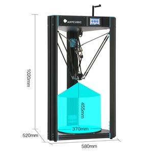 Image 2 - Anycubique prédateur imprimante 3D grande taille 370*370*455mm pré assemblé Ultrabase Pro 3d drucker bricolage 3D imprimante Kit impresora 3d