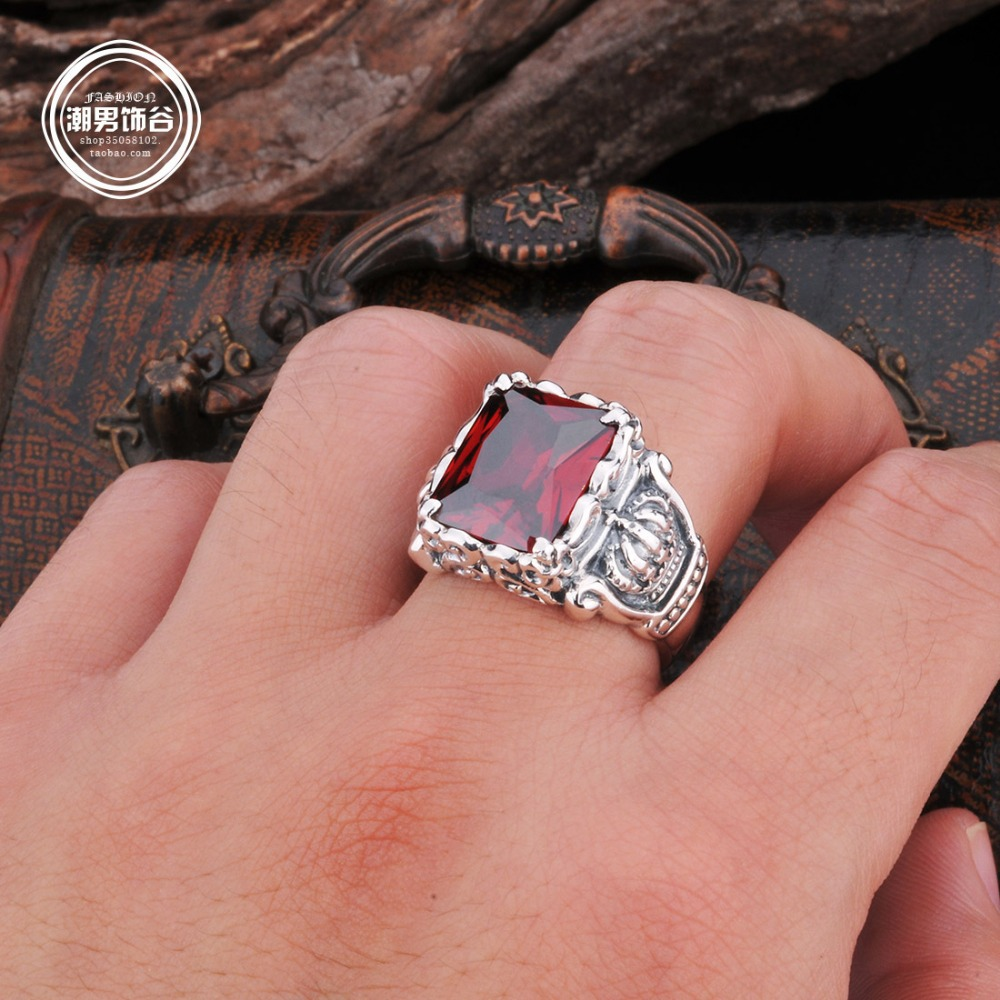 Really 925 silver vintage lucky Pure handmade imperial crown Ancient ...