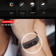 Mijobs for Xiaomi Mi Band 2 Strap Sport miband 2 Strap Bracelet For xiaomi mi band 2 Bracelet Colorful Silicone Replacement